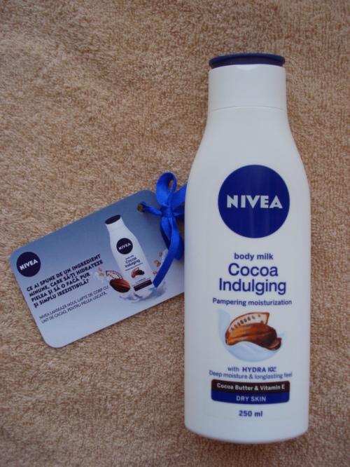 nivea cocoa indulge