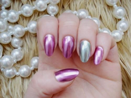 chrome nails manichiura (1)