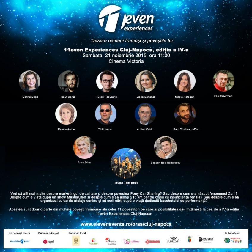 11even Experiences Cluj 2015