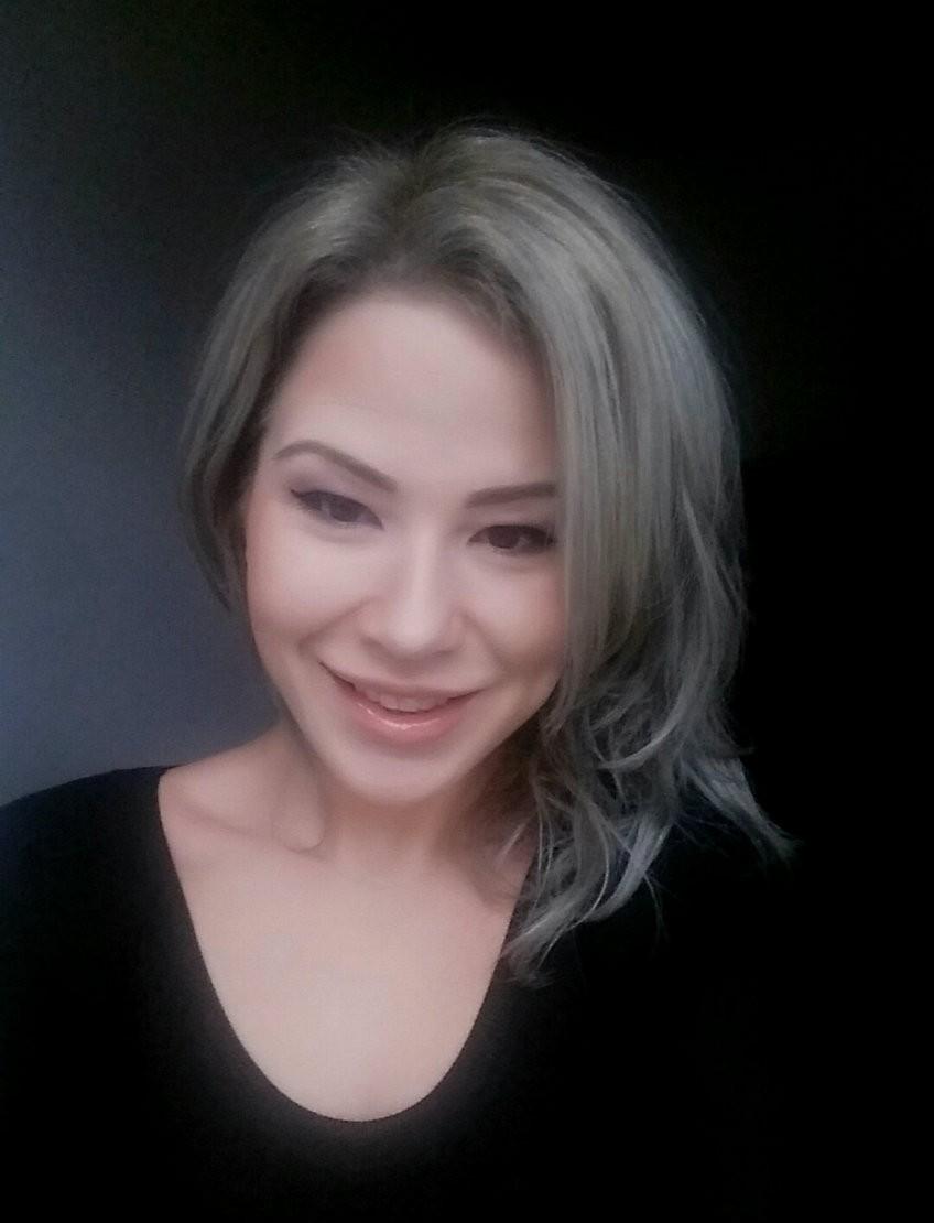 blond gri argintiu
