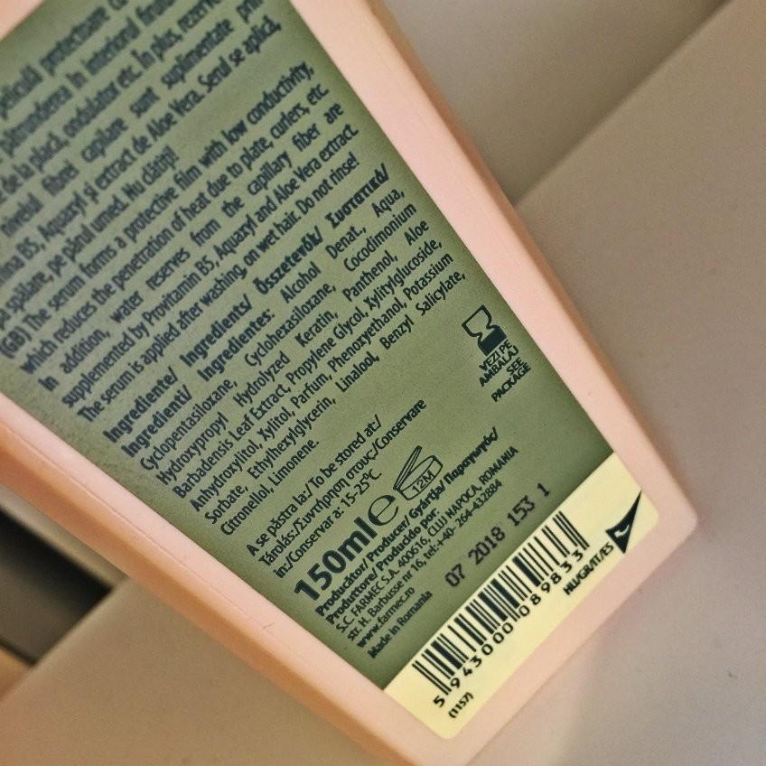 ingrediente noul ser termoprotector