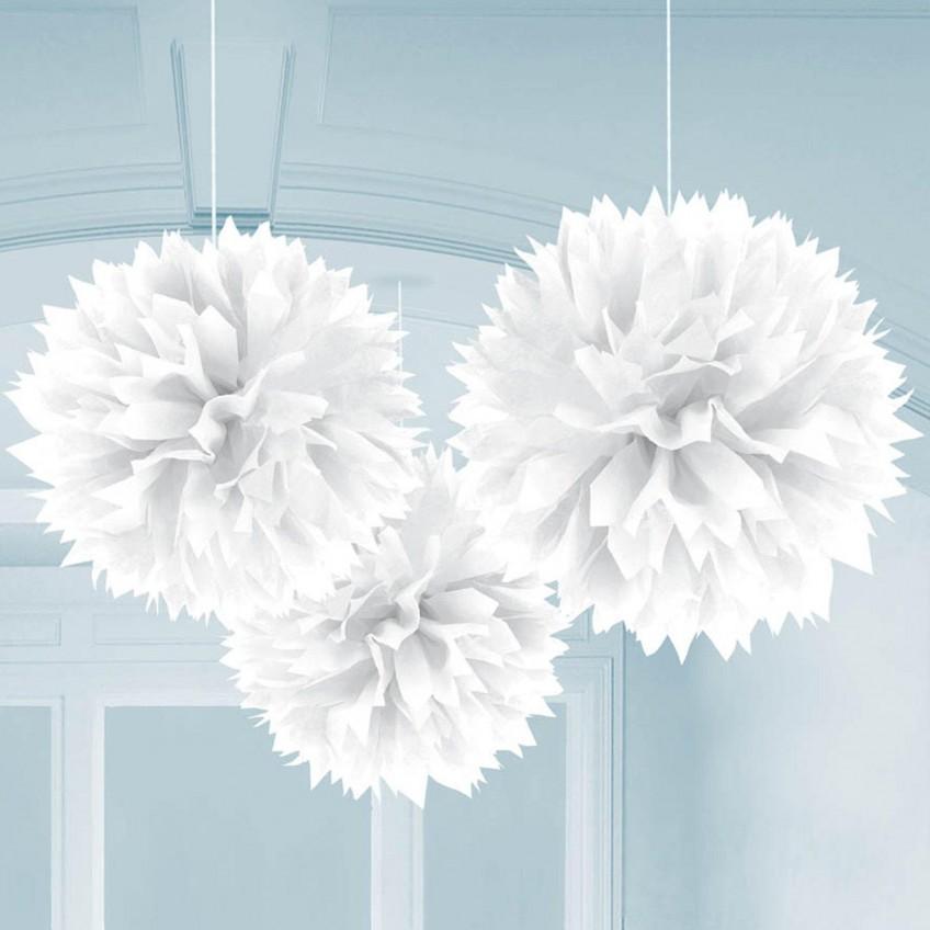 decoratii albe