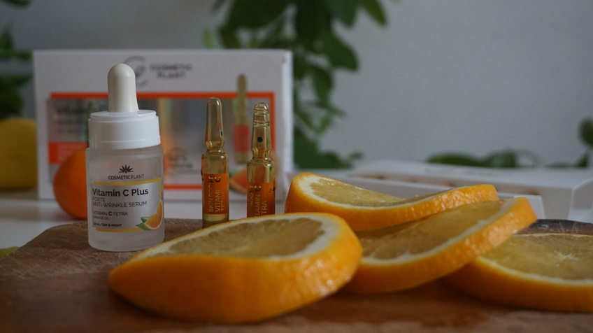 skin booster vitamin c plus cosmetic plant