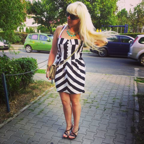 black white stripes fashion (5)