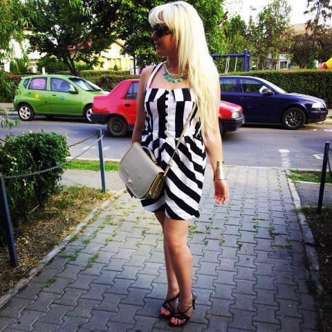 black white stripes fashion (6)