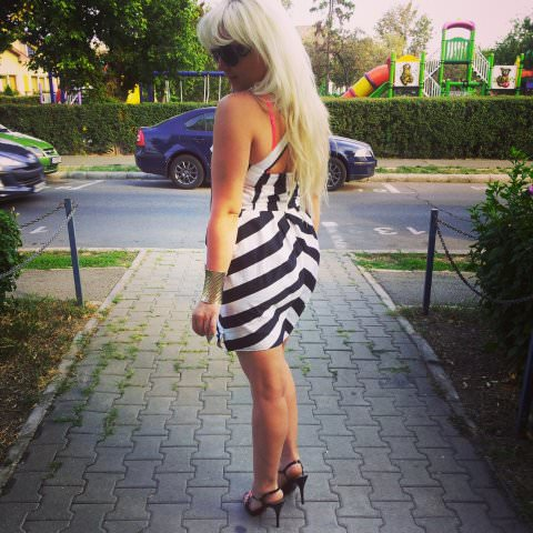 black white stripes fashion (7)