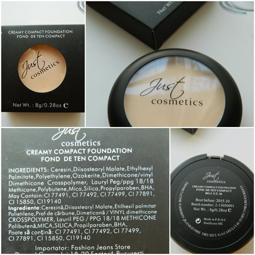 just cosmetics fond de ten compact