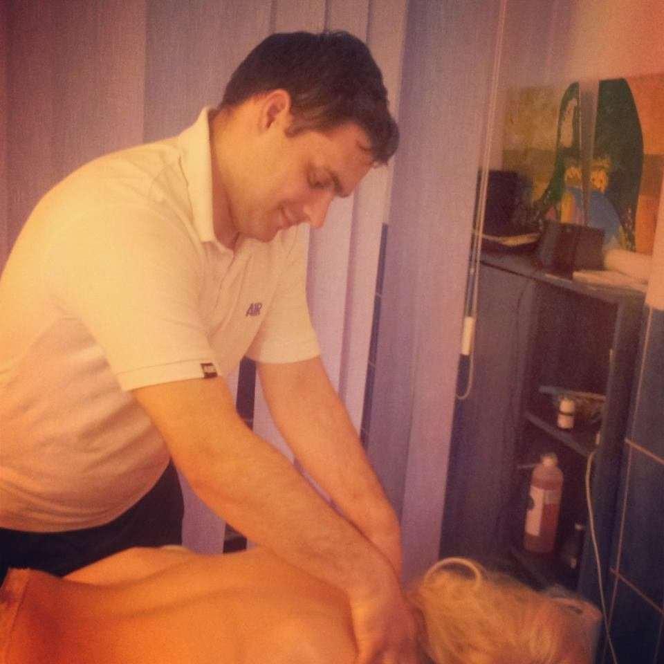 masaj terapeutic spate