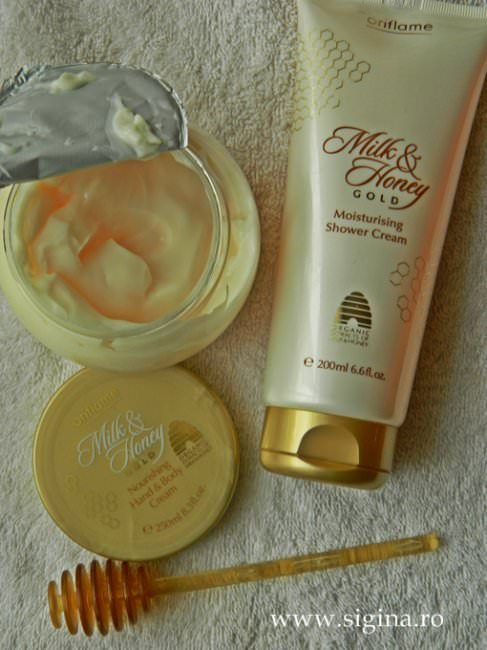milk honey gold oriflame