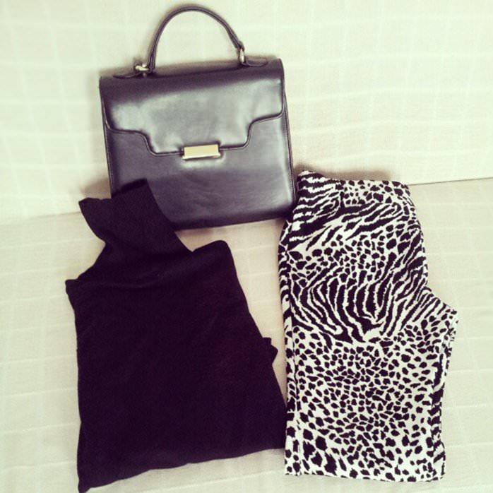 outfit negru si alb (1)