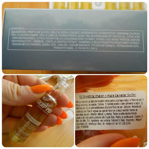 soothing infusion alfaparf ingrediente